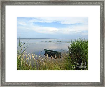 Framed Print featuring the photograph Waiting For The Nightshift by Ausra Huntington nee Paulauskaite