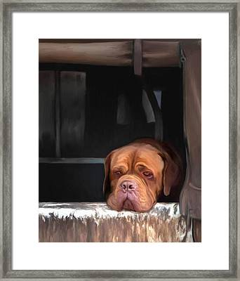 Waiting On A Friend Framed Print