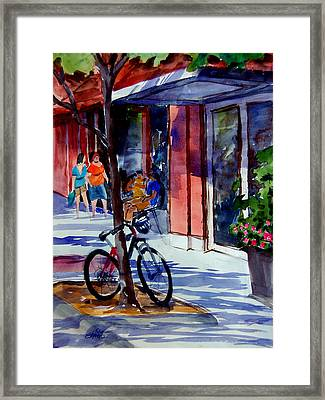Waiting Framed Print by Ron Stephens