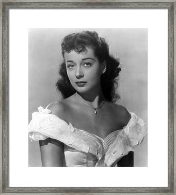 Wake Of The Red Witch, Gail Russell Framed Print by Everett