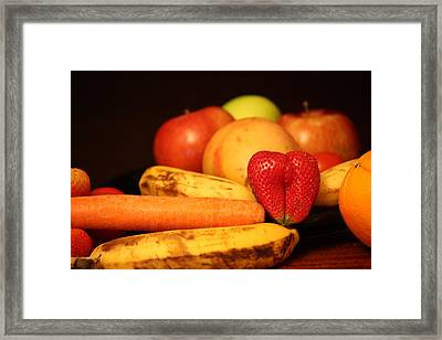Wake Up - Fruit Is In The Air Framed Print by Andrea Nicosia