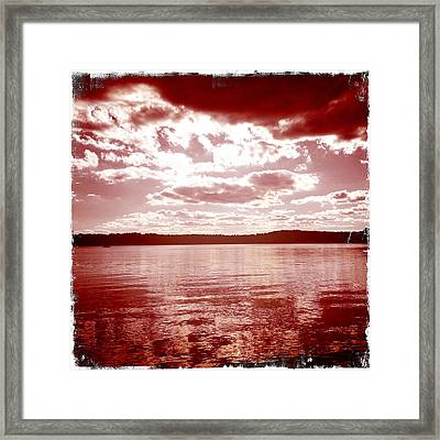 Wakeby Pond Framed Print by Frank Winters