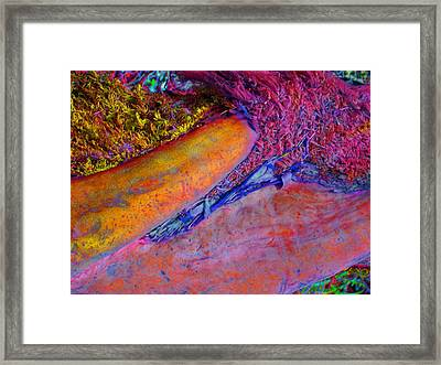 Framed Print featuring the digital art Waking Up by Richard Laeton