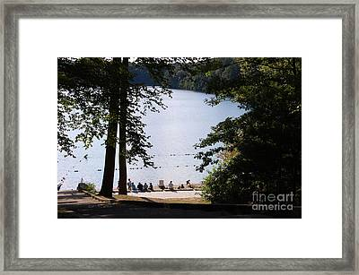 Walden Pond Framed Print by John Small