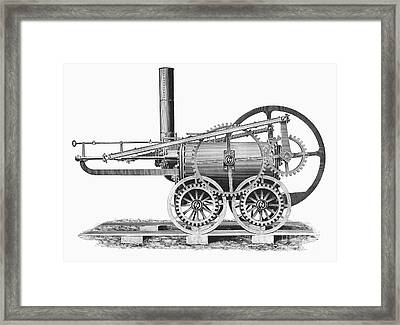 Wales: Locomotive, 1804 Framed Print