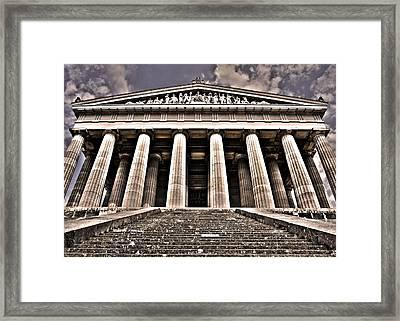 Walhalla ... Framed Print by Juergen Weiss