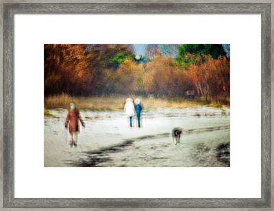 Walk Framed Print
