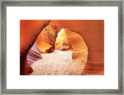 Walk In Beauty Framed Print