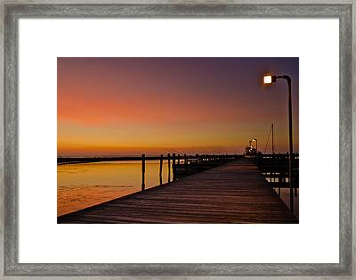 Walk To Freedom Framed Print