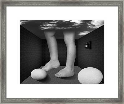 Walk To... Framed Print