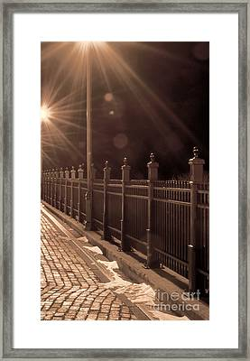 Walk With Me Framed Print by Whispering Feather Gallery
