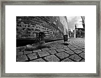 Framed Print featuring the photograph Walkabout by Dan Wells