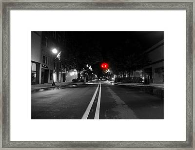 Walking After Midnight  Framed Print by Tammy Cantrell