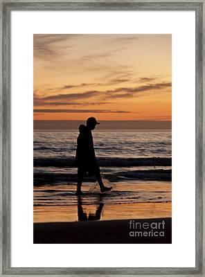 Walking Framed Print by Armando Carlos Ferreira Palhau