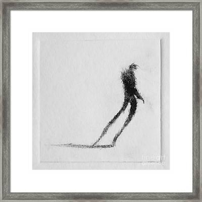 Walking I Framed Print by Valdas Misevicius