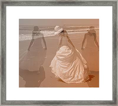 Walking In A Dream Framed Print