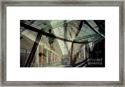 Walking On Air Framed Print