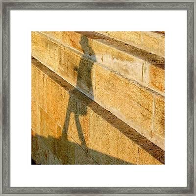Walking On Sunshine #italy #genoa Framed Print