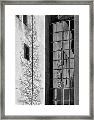 Wall And Windows Metropolitan Museum Nyc Framed Print by Robert Ullmann