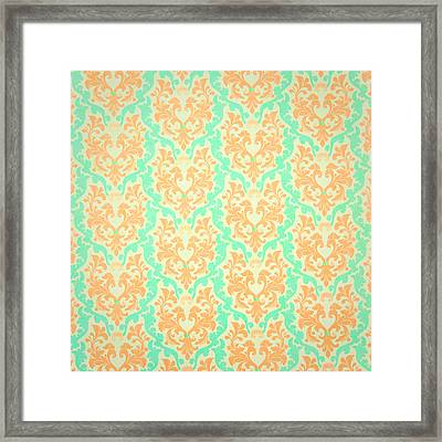 Wall Paper Framed Print by Tom Gowanlock