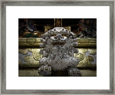 Wall Sculpture Framed Print by Naxart Studio