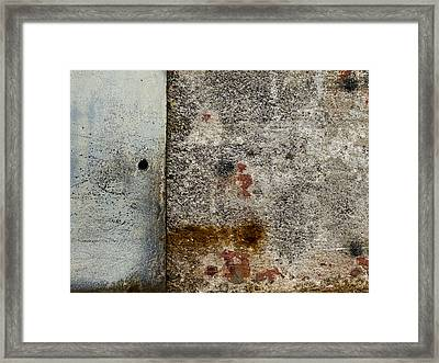 Wall Texture Number 10 Framed Print