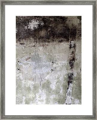 Wall Texture Number 11 Framed Print