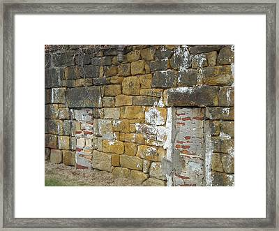 Framed Print featuring the photograph Walled In by Christophe Ennis