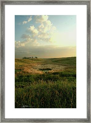 Waller Framed Print