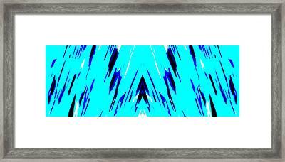 Wallpaper Framed Print by Danny Lally