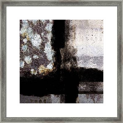 Walls Paper And Time Framed Print