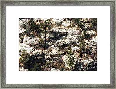 Walnut Canyon Framed Print by John Rizzuto