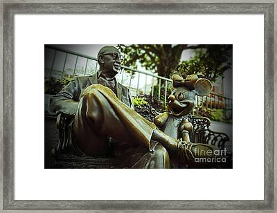 Walt Disney World - Magic Kingdom Framed Print by AK Photography