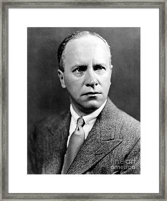 Walter Duranty (1884-1957) Framed Print by Granger