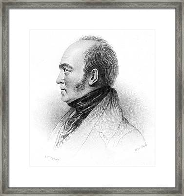 Walter Savage Landor Framed Print by Granger