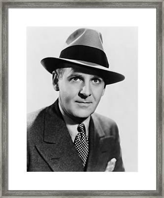 Walter Winchell 1897-1972, Is Credited Framed Print
