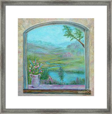 Walton's Valley Framed Print
