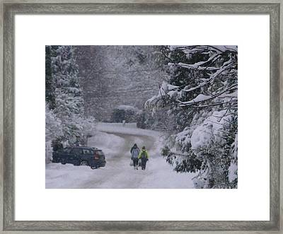 Wanderers In White Framed Print by Rdr Creative