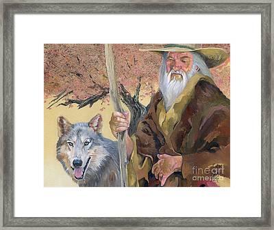 Wanderers Framed Print by J W Baker