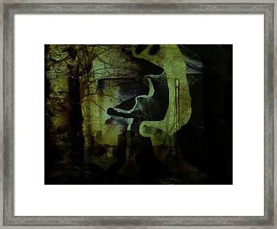 Wandering Around Framed Print by Shirley Sirois