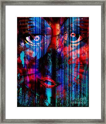 Wandering Thoughts - Issues We Face Framed Print by Fania Simon
