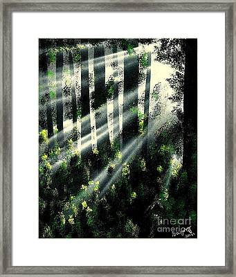 Waning Light Framed Print