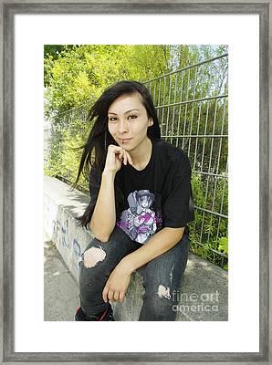 Wanita X Airforcetuan IIi Framed Print by Tuan HollaBack