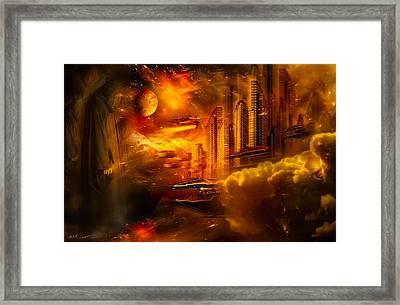 War And Death Framed Print by Svetlana Sewell