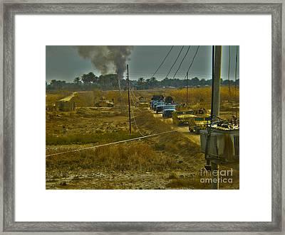 War Hummers Framed Print by Joanne Kocwin