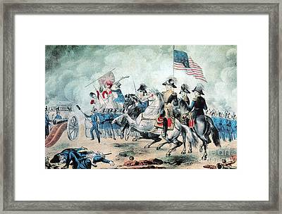 War Of 1812 Battle Of New Orleans 1815 Framed Print by Photo Researchers