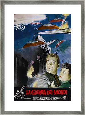 War Of The Worlds, Left To Right Gene Framed Print