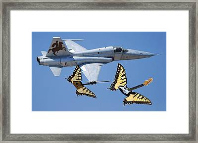 War On Tour Framed Print by Eric Kempson