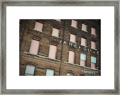 Warehouse Framed Print by Chris Berry