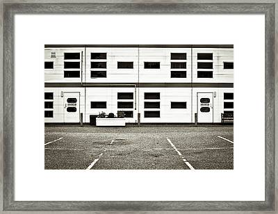 Warehouse Framed Print by Tom Gowanlock